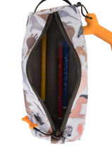 Pencil Case Oregon 1 Compartment Stones and bones Gray boys B-vue-porte