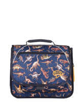 Cartable Mini Iris Boys Stones and bones Bleu boys B