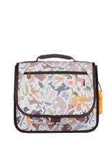 Mini Satchel Iris Boys Stones and bones Gray boys B