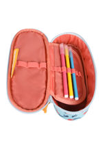 Pencil Case Oak 1 Compartment Stones and bones Blue girls G-vue-porte