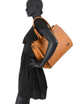 Sac Shopping Format A4 Gallantry Marron format a4 M9216-vue-porte