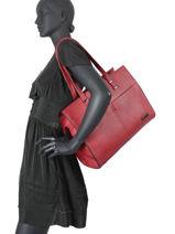 Shopper Format A4 Gallantry Red format a4 1-vue-porte