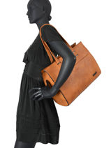 Shopper Gallantry Brown 1-vue-porte