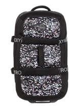 Softside Luggage Luggage Neoprene Roxy Black luggage neoprene RJBL3202