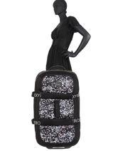Softside Luggage Luggage Neoprene Roxy Black luggage neoprene RJBL3202-vue-porte
