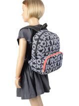 Mini Backpack Always Core Roxy Black kids RJBP4152-vue-porte