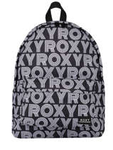 Backpack Sugar Baby 1 Compartment Roxy Black back to school RJBP4154