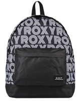 Backpack Roxy Black back to school RJBP4155