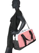 Cabin Duffle Luggage Roxy Pink luggage RJBP4204-vue-porte