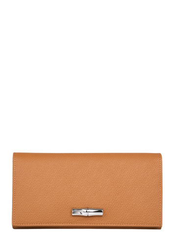 Longchamp Roseau Wallet Brown