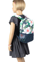 Backpack Mini Roxy Multicolor kids RLBP3042-vue-porte