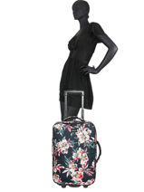 Cabin Luggage Roxy Black luggage RJBL3207-vue-porte
