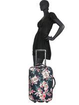 Valise Cabine Roxy Noir luggage RJBL3207-vue-porte