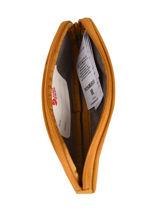 Pencil Case 1 Compartment Fjallraven Yellow kanken 23783-vue-porte