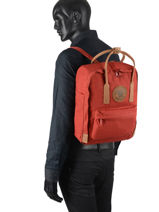 Backpack Kånken 1 Compartment Fjallraven Red kanken n°2 23565-vue-porte