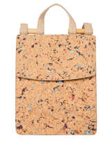 Backpack Coquelicot Woomen Beige coquelicot WCOL02