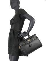 Shopping Bag Romy Leather Mac douglas Black romy X-vue-porte