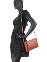 Shoulder Bag Hermy Leather Gianni chiarini Orange hermy BS3695-vue-porte