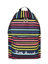 Backpack 1 Compartment Little marcel Black school 8872