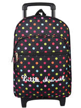 Sac A Dos Roulettes Little marcel Black school 8870
