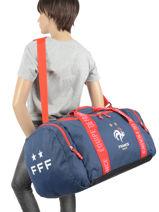 Sac De Sport Enfant Federat. france football Bleu equipe de france 193X205S-vue-porte