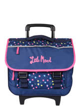 Wheeled Schoolbag 2 Compartments Little marcel Blue school 330220TR