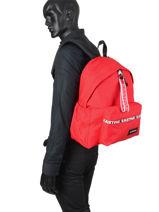 Backpack Padded Zipper Eastpak EA5B74-vue-porte