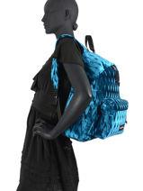 Backpack Eastpak velvetized K620VEL-vue-porte