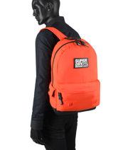 Backpack 1 Compartment Superdry backpack men M9110057-vue-porte