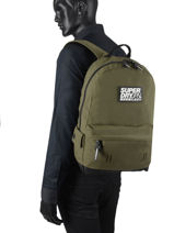 Sac A Dos 1 Compartiment Superdry backpack men M9110057-vue-porte
