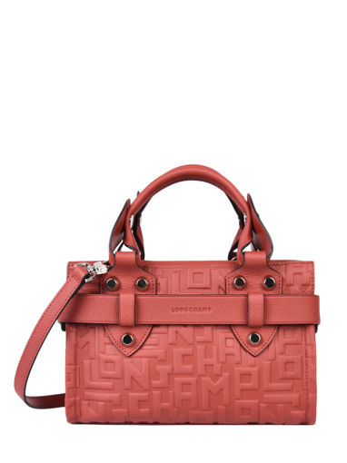 Longchamp La voyageuse lgp Sacs porté main Rouge