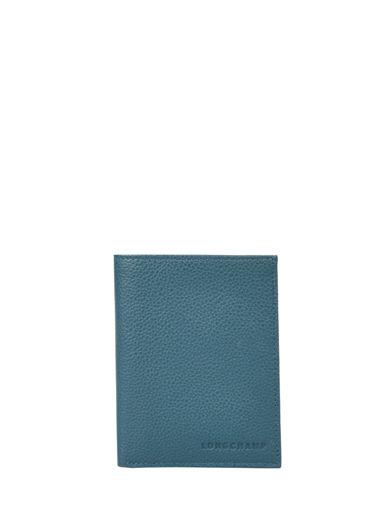 Longchamp Wallet Blue