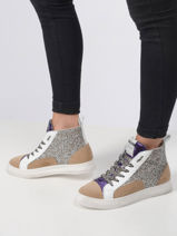 Baskets glitter-MELINE-vue-porte