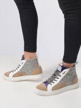 Glitter sneakers-MELINE-vue-porte