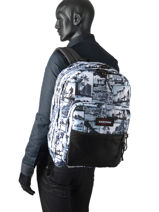 Backpack Pinnacle Eastpak pbg authentic PBGK060-vue-porte
