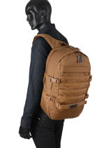 Backpack Floid Tact 1 Compartment Eastpak K24F-vue-porte
