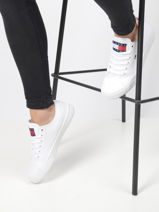 Sneakers wmns long lace up-TOMMY HILFIGER-vue-porte
