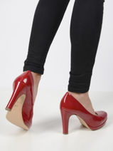 High heel patent pumps-TAMARIS-vue-porte