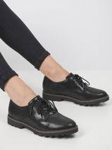 Lace-up shoes derby-TAMARIS-vue-porte