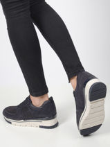 Leather sneakers-TAMARIS-vue-porte
