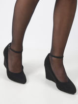Wedge pumps-TAMARIS-vue-porte