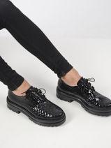 Chaussures à lacets en cuir-MJUS-vue-porte
