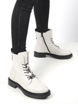 Boots in leather-MJUS-vue-porte
