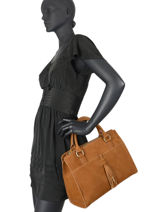 Top Handle Tornade Leather Etrier Brown tornade ETOR08-vue-porte
