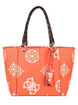 Sac Shopping A4 Kamryn Guess Orange kamryn SO669123