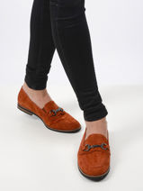 Moccasins in leather-GABOR-vue-porte