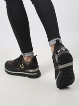 Wonder maxi coated sneakers-LIU JO-vue-porte