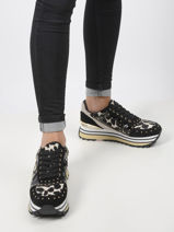 Wonder maxi leopard sneakers n leather-LIU JO-vue-porte