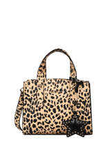 Volu Crossbody Bag With Leopard-print Liu jo Brown volu AF0087