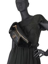 Cool Belt Bag With Imitation Fur Liu jo Black cool AF0026-vue-porte